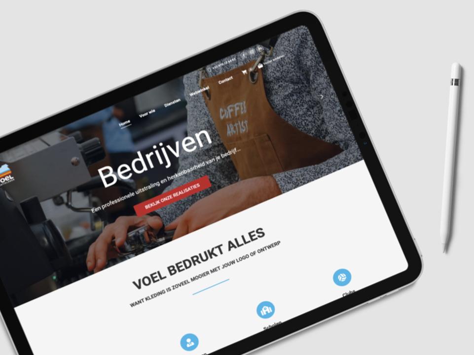 Webdesign Voel door marketinX