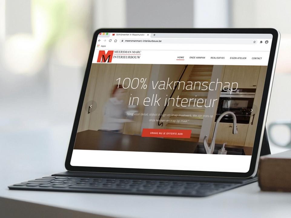 Webdesign Marc Meersman Interieurbouw