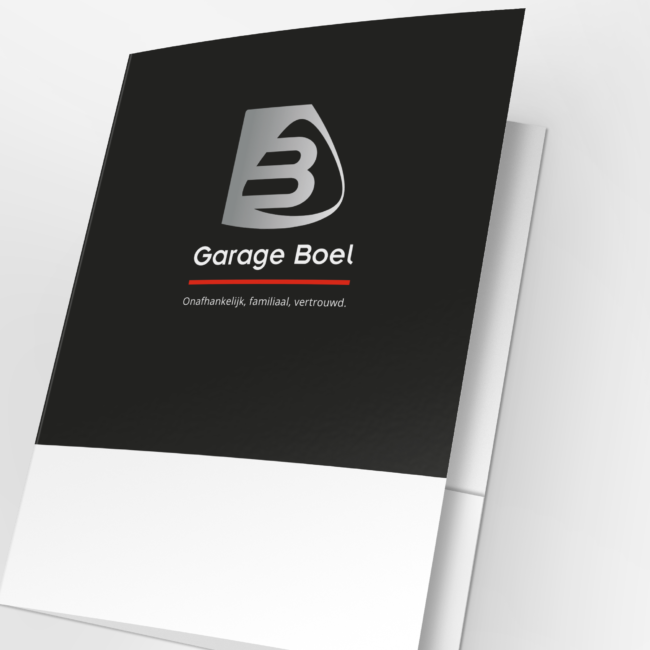 Presentatiemap Garage Boel