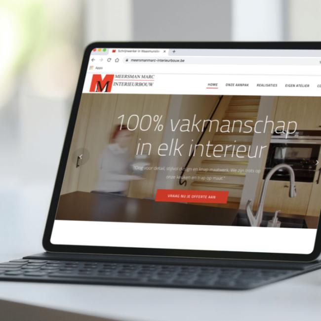 Marc Meersman Website