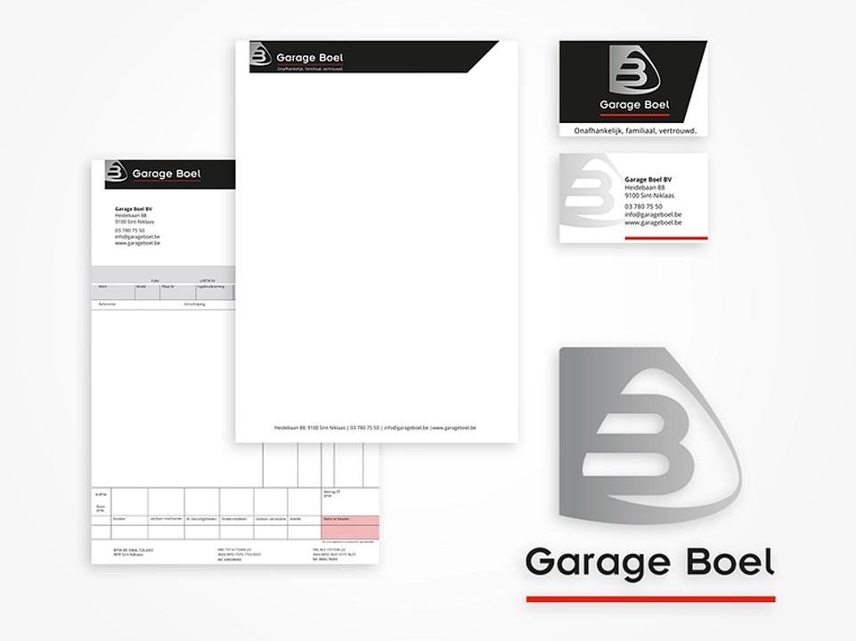 Garage Boel stationary