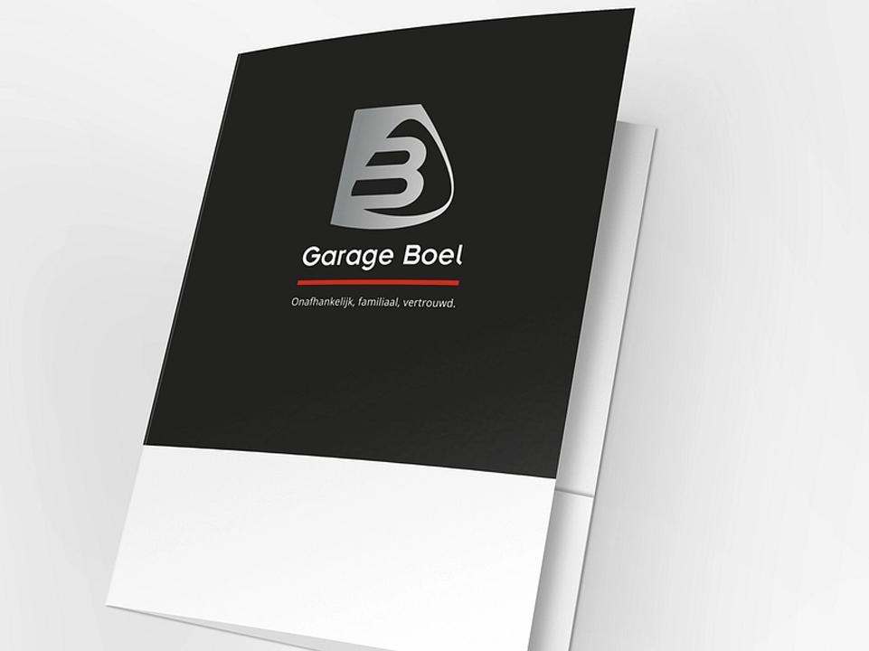 Garage Boel presentatiemap