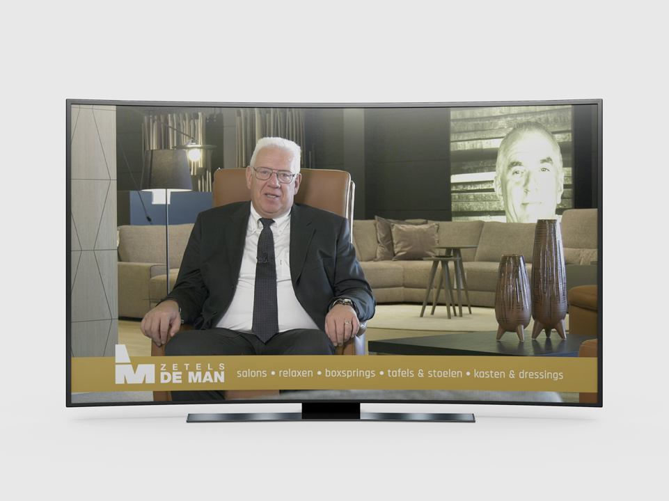 TV Spot Zetels De Man