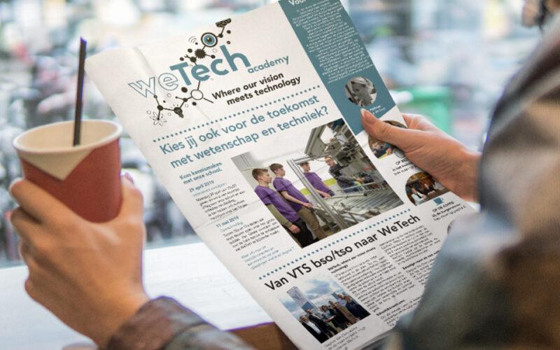 WeTech krant