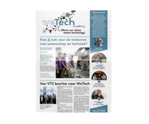 WeTech krant door marketinX