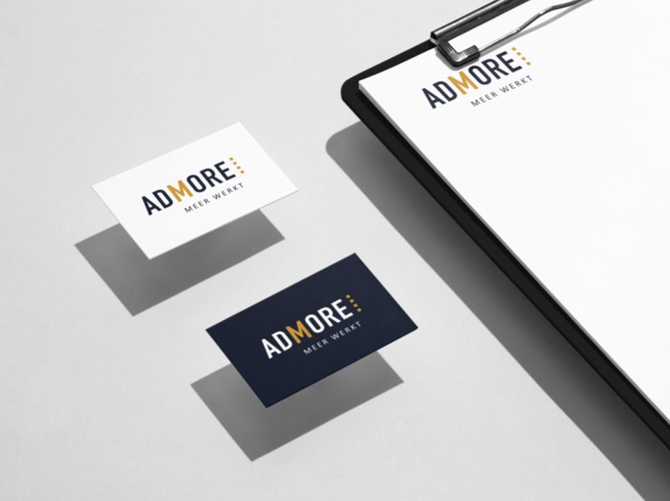 Visitekaartjes Admore door marketinX