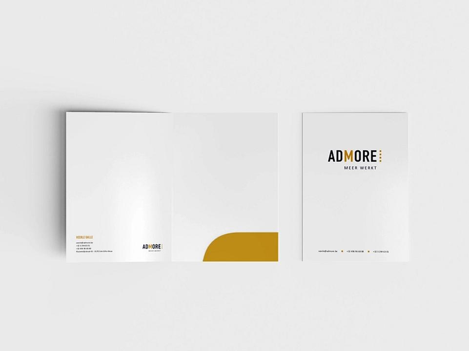 Huisstijl Admore door marketinX