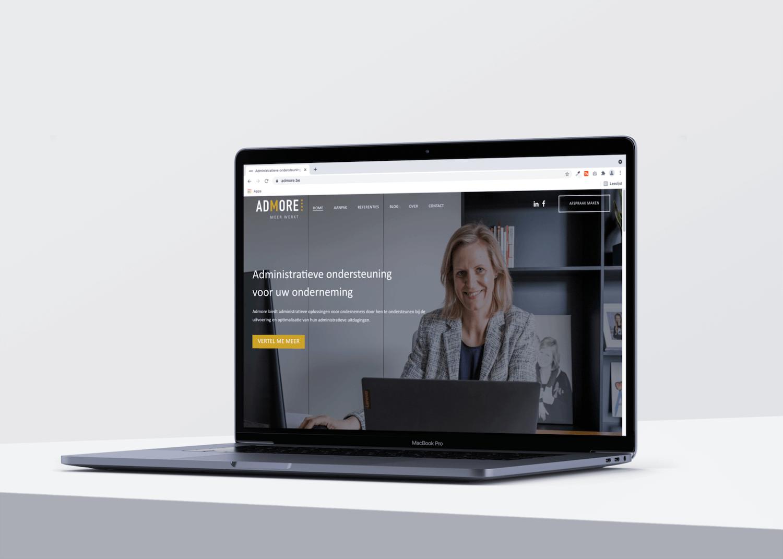 Website Admore door marketinX