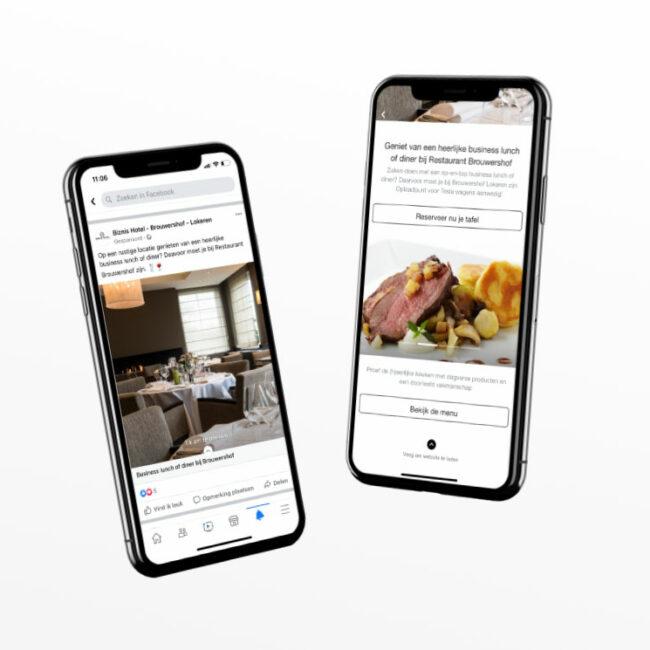 Social media Biznis Hotel Brouwershof Lokeren
